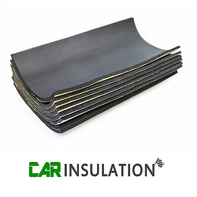 12 Sheets 10mm Van Sound Proofing Deadening Vehicle Insulation Closed Cell Foam