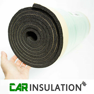 10mm Closed Cell Foam Thermal Sound Deadening Insulation Adhesive Waterproof