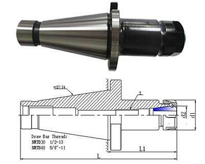 NMTB40-ER40-2.50 Milling Machine Collet Chuck Tool Holder Adapter