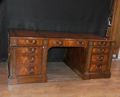 Victorian Mahogany Desk Writing Table Antique Furniture Desks