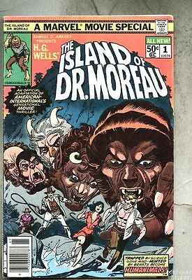 Island Of Dr. Moreau #1-1977-fn Giant-Size / Dr Doctor