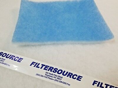 Paint Spray Booth 20x20 Tacky Intake Filter Pad 20/Case