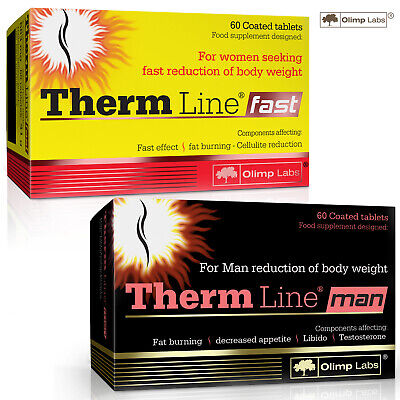 Therm Line Fast or/and Therm Line Man Fat Burner Weight Loss Slimming Diet Pills