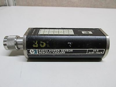 HP/Agilent 8484A 10 MHz to 18 GHz Power Sensor, 100pW-10uW