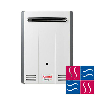 Rinnai Infinity 26 NATURAL GAS Water Heater (60° Preset) - Cass Brothers