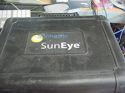 Solmetric SunEye 210 Solar Shade Tool with CD, manual, USB cable, carrying case