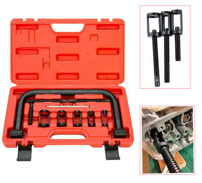 Valve Spring Clamps Compressor 10 PCS Cars Motorcycle Tool Bit Set OHV/OHC Kit