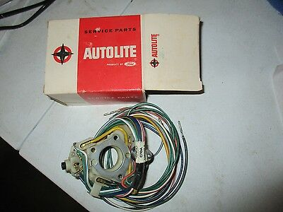 NOS Autolite FoMoCo 1967 Ford Fairlane Mustang Mercury Cougar Turn Signal Switch