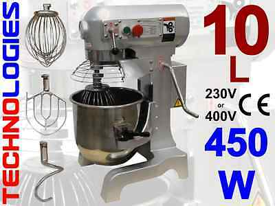 Planetary Dough Mixer 10L / 3 Kg Dough / Hobart Design / 400V / New! On Stock!