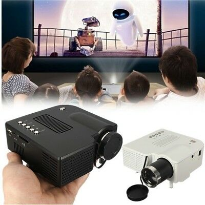 [NEW] UC28+ Mini Multimedia LED Projector Home Cinema AV VGA SD USB HDMI