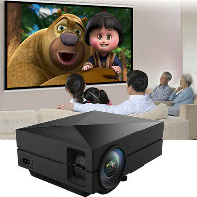 [NEW] GM60 Portable Mini Home Theater 800x480 LED LCD Projector 1080P HD