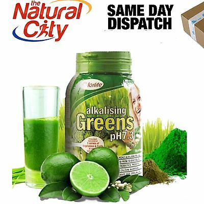 ALKALISING GREENS PH 7.3 1KG MORLIFE Barley Grass Wheat Grass