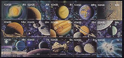 Ciskei 1991 Solar System miniature sheet unhinged mint