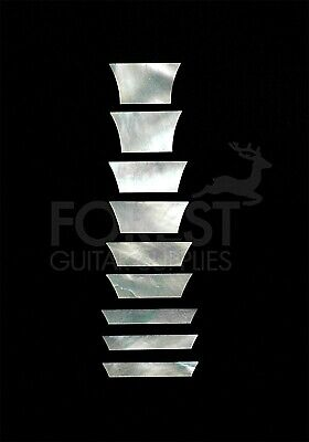 Gibson® Les Paul Standard trapezoid style real white mother of pearl inlay set