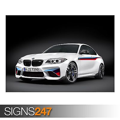 "BMW 6 SERIES GRAN COUPE M PRINT WALL POSTER PICTURE 33.1/""x20.7/"""