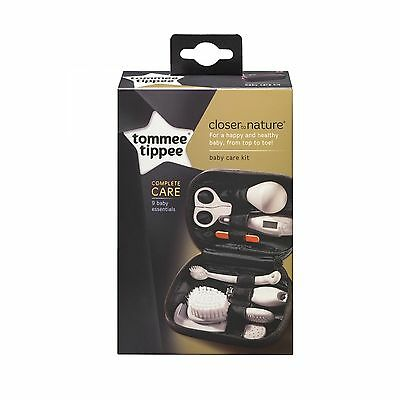 Tommee Tippee Closer to Nature Baby Grooming Thermometer Healthcare Kit Pack Set