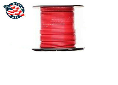 25ft Mil-Spec high temperature wire cable 22 Gauge RED Tefzel M22759/16-22-2