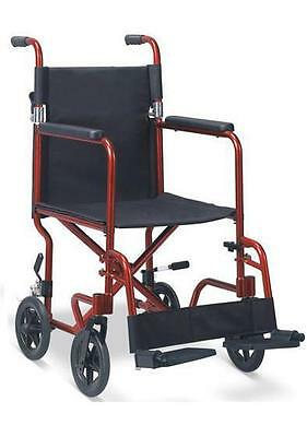 "18"" Economy Lightweight Attendant Propelled Wheelchair MWC304775"