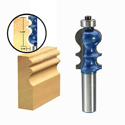 [NEW] 1/2 Inch Shank Router Bit Carbide Woodworking Cutter Engraving Trimming