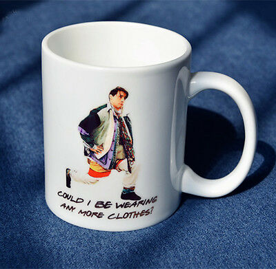 Friends TV Show Series Joey Double side Patterns Mug Coffee Tea Water Cup Gifts
