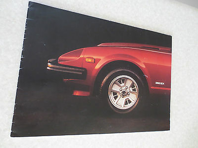 Datsun 280 ZX advertising booklet