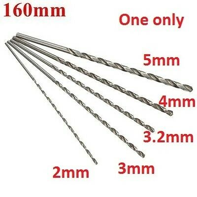 [NEW] 1PCS 2mm To 5mm Diameter Extra Long HSS Auger Twist Drill Bit Straigth Sha