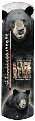 Heritage America by MORCO 375BB Black Bear Outdoor or Indoor Thermometer, 20-Inc
