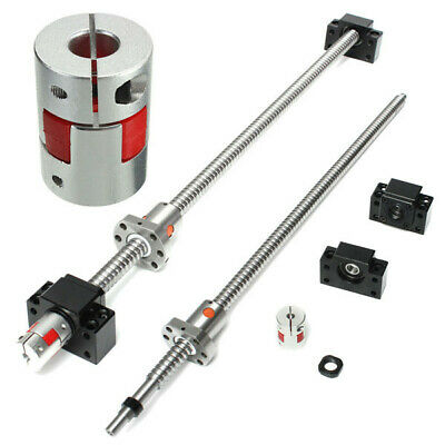 [NEW] 500mm SFU1605 Ball Screw with BK12 BF12 Supports and 6.35x10mm Coupler for