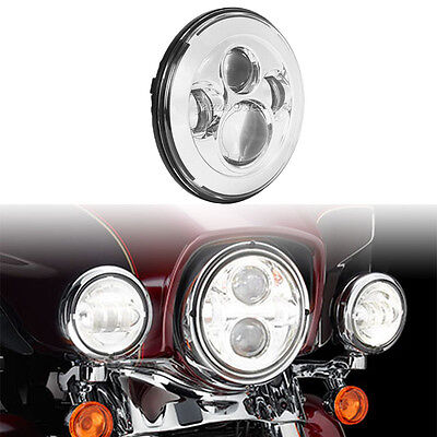 """7"""" Projector Daymaker LED Headlight For Harley Davidson Heritage Softail Classic"""
