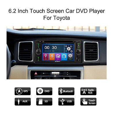 """6.2"""" Car DVD Player GPS RDS Radio SD Freeview DVB-T TV for Toyota Camery Corolla"""