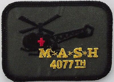 MASH 4077th embroidered cloth patch.  H010901
