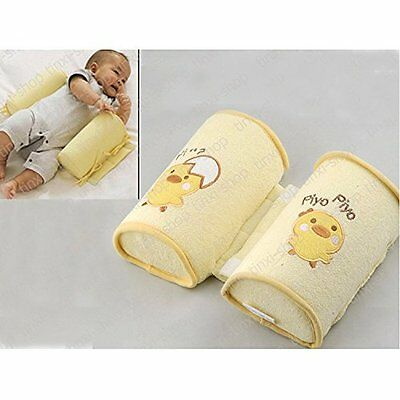 Anti-Rollover Soft Baby Safe Cotton Pillow Anti Roll Flat Sleep Head Positioner