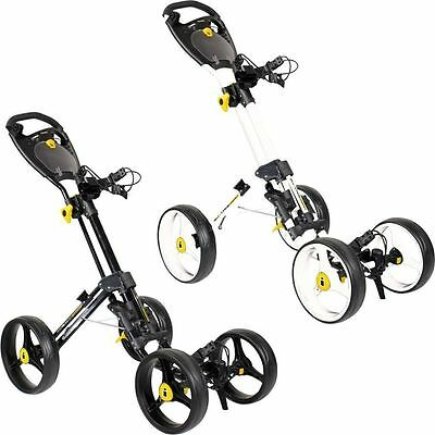 Masters iCart Quattro 4 (Four) Wheel Collapsible Compact Push Golf Trolley