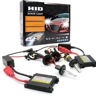 XENON H7 H11 HID CONVERSION REPLACEMENT Headlight Bulb Slim Ballast Complete KIT