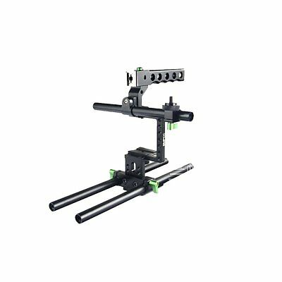 Lanparte BMPCC-01 basic kit Top Handle Rig Baseplate Cage For Blackmagic camera