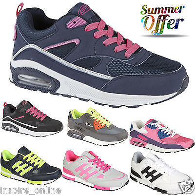 Ladies Trainers Sports Girls Gym Shock Absorbing Womens Fashion Fitness Running