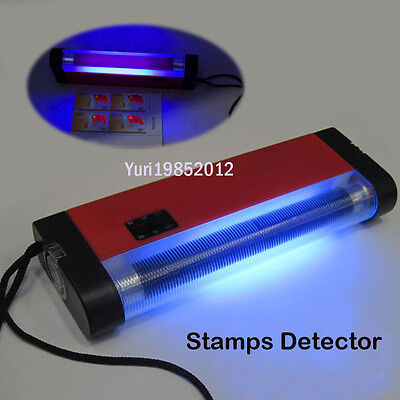 365nm Long Wave  Ultraviolet Light Detect Philatelic Tagging  Collector UV Lamps