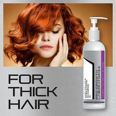 Pro Growth Womens Hair Follicle Stimulating Shampoo Grow Thick Shiny Hair