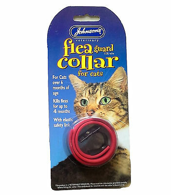 Johnsons Waterproof Cat Flea Collar Pack of 3