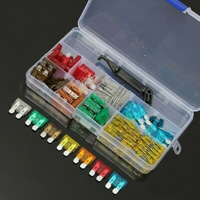 [NEW] 100pcs Assorted Auto Car Motorcycle Low Profile Mini Blade Fuse 5A 7.5A 10