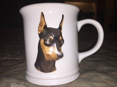 MINIATURE PINSCHER Dog 12 OZ XPRES COFFEE MUG CUP 1999