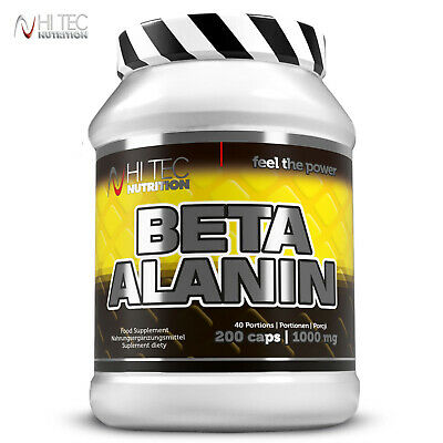 Beta Alanine 250g / 200 Caps Endurance Stamina Energy Power Food Supplement