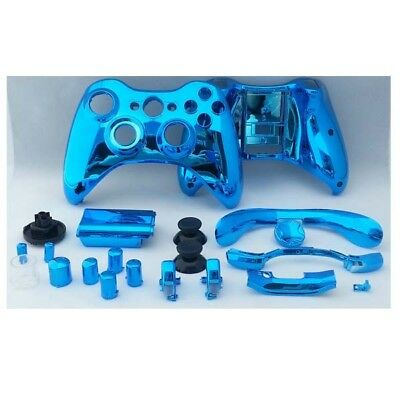 [NEW] Chrome Plating ABS Protective Shell For XBOX 360 Wireless Controller