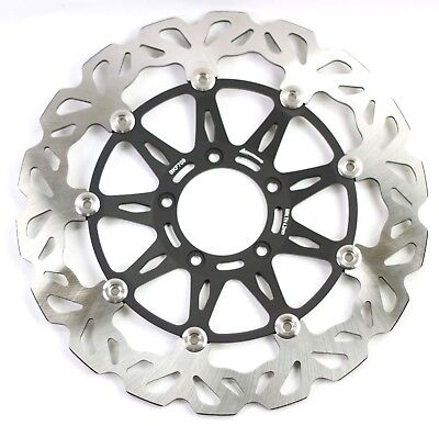 Ducati 1199 Panigale Tricolor 2013 Road Wavy Front Floating Brake Disc