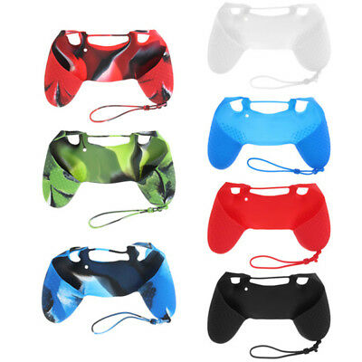 [NEW] Silicone Case Skin Grip Rubber Cover For Sony PlayStation 4 PS4 Controller