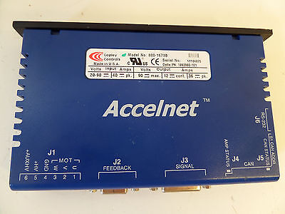 Copley Controls Accelnet Panel  Servo Drive CNC with Warranty, Fully Tested