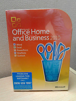 Microsoft Office Home and Business 2010. Sealed and Brand New. T5D-00159.