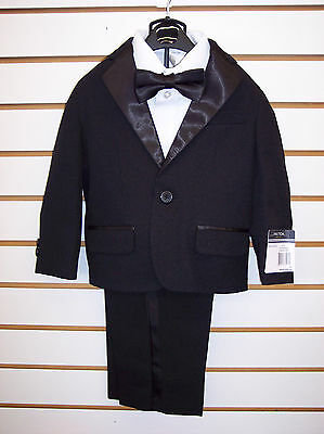 Infant, Toddler, & Boys Nautica $89.50 4pc Black & White Tuxedo Size 12mo - 7