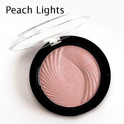 MAKEUP REVOLUTION Highlighting Face Powder Vivid Baked Highlighter Peach Lights