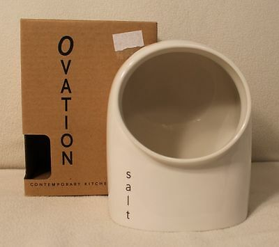 Wade Ovation Contemporary Kitchenware Salt Keeper New in Box